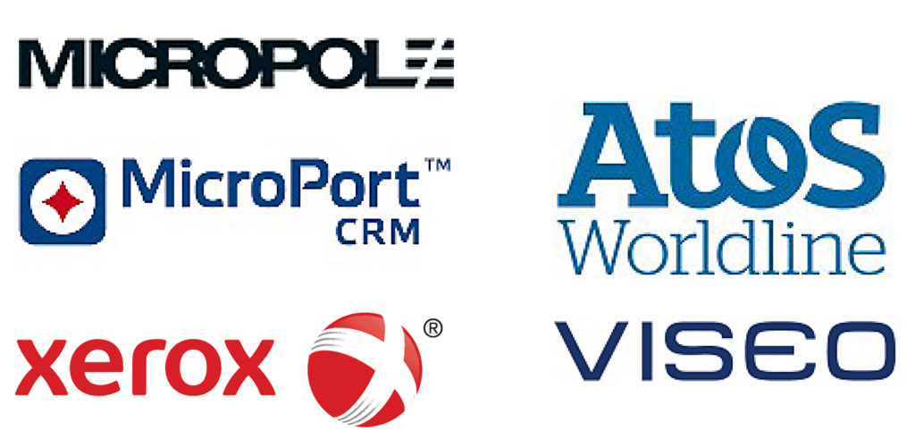 corporate clients : Micropole, MicroPort crm, Atos Worldline, Viseo, Werox